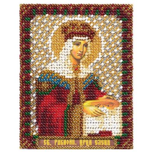 Купить PANNA Набор для вышивания бисером Икона святой равноапостольной царицы Елены 8, 5 x 10, 5 см (CM-1251), Наборы для вышивания