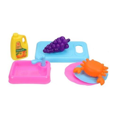 Игровой набор Shantou Gepai 8068 голубой/розовый/оранжевый/желтый недорого