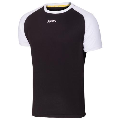 Купить Футболка Jögel JFT-1011 размер YL, черный/белый, Футболки и топы