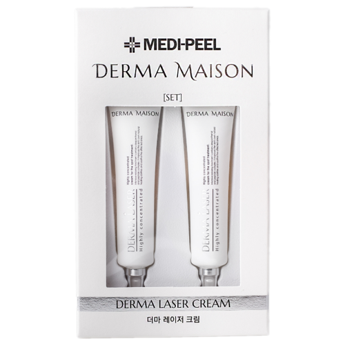 Купить MEDI-PEEL Derma Maison Derma Laser Cream Высококонцентрированный восстанавливающий крем для лица для точечного (локального) применения, 15 мл (2 шт.)