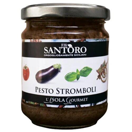 Фото - Соус Santoro Песто Cтромболи, 180 г соус песто этна 180 г