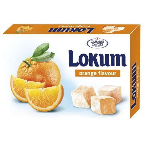 Лукум Zaharni Zavodi со вкусом апельсина 140 г