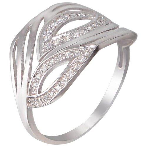 Эстет Кольцо с 36 фианитами из серебра Н11К152603, размер 17.5 ЭСТЕТ
