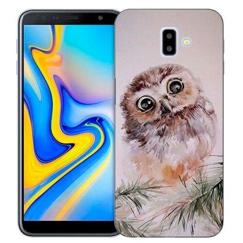 Чехол Gosso 731056 для Samsung Galaxy J6+ (2018) совенокЧехлы<br>