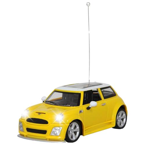 Легковой автомобиль GK Racer Series BMW Mini Cooper (866-2413) 1:24 16 см желтый автомобиль на радиоуправлении kidztech mini racer