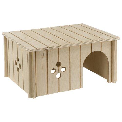 Домик для кроликов Ferplast SIN 4646 33х23.6х16 см бежевый