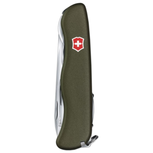Нож многофункциональный VICTORINOX Outrider (14 функций) зеленый нож многофункциональный victorinox outrider 14 функций синий