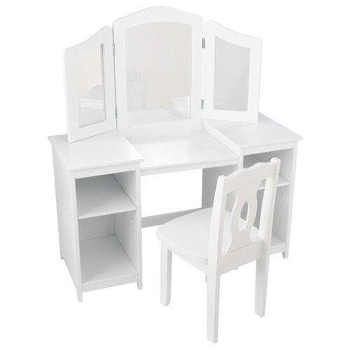 Купить Туалетный столик KidKraft Делюкс (13018_KE), Играем в салон красоты