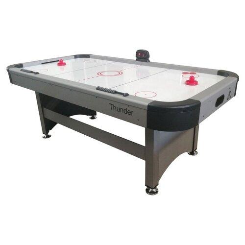 Фото - Игровой стол для аэрохоккея DFC Thunder DS-AT-06 серый игровой стол для аэрохоккея dfc baltimor ds at 09 красный черный