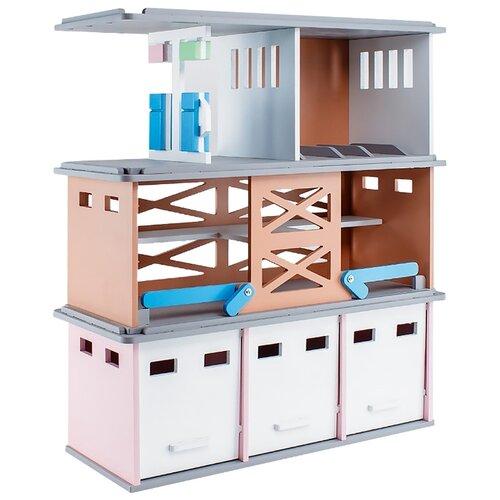 Стеллаж PAREMO Модульная парковка PRT620-01 серый/персиковый/розовый кольцо стопорное 47 12 prt620