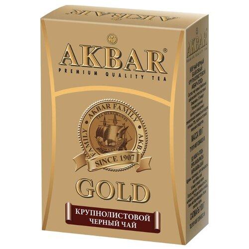 Чай черный Akbar Gold, 100 гЧай<br>