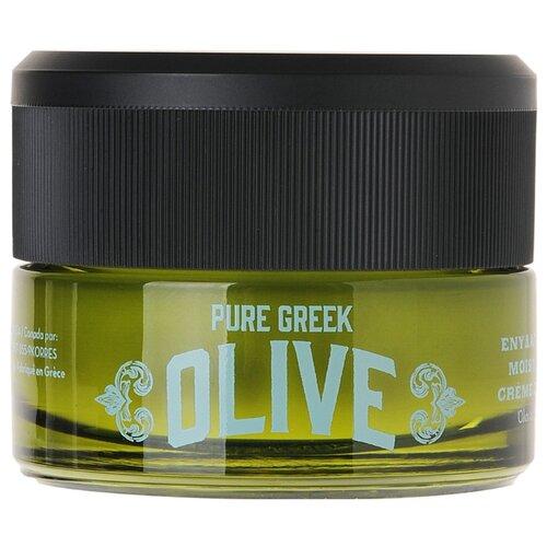 KORRES Pure Greek Olive Moisturising Day Cream Дневной крем для лица, 40 мл korres korres pure greek olive showergel honey гель для душа с медом 250 мл