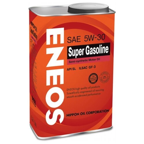 Моторное масло ENEOS Super Gasoline SL 5W-30 0.94 л