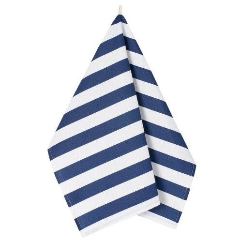 Guten Morgen полотенце Синяя полоска кухонное 45х60 см полоска guten morgen полотенце дольче вита кухонное 45х60 см белый коричневый