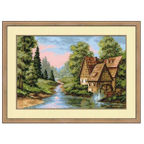 Купить Риолис Набор для вышивания крестом Мельница 38 х 26 см (1097), Наборы для вышивания