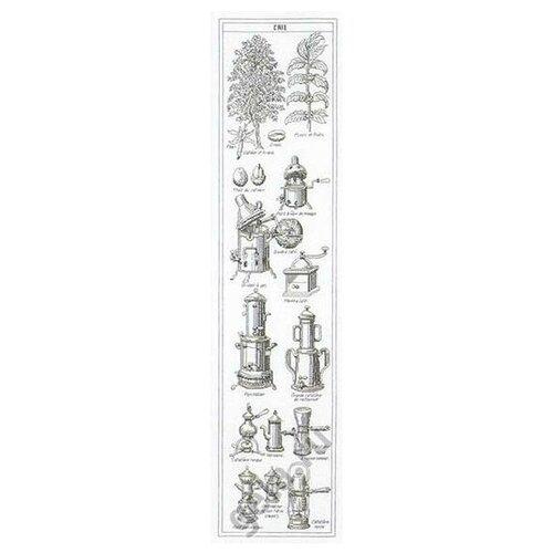 Thea Gouverneur Набор для вышивания Дизайн кофе 23 х 92 см (3028) thea gouverneur набор для вышивания санкт петербург 50 х 79 см 430а