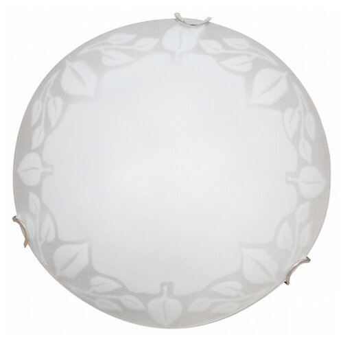 Светильник Arte Lamp Leaves A4020PL-1CC, D: 25 см, E27 светильник без эпра arte lamp ornament a3320pl 1cc d 25 см e27