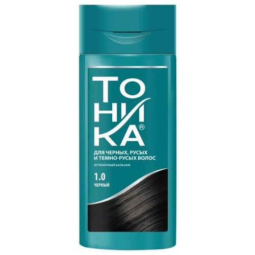 Бальзам Тоника для русых, темно-русых и черных волос, 1.0 черный, 150 мл шампунь тоника