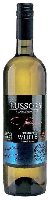 Вино безалкогольное Lussory Premium белое полусухое Chardonnay 0.75 л