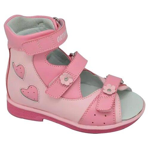 Сандалии Orthoboom размер 27, розовыйБосоножки, сандалии<br>