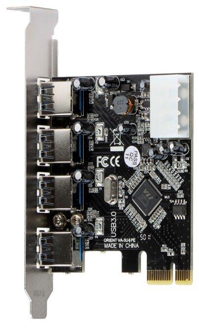 USB 3.1 Gen1 контроллер ORIENT VA-3U4PE