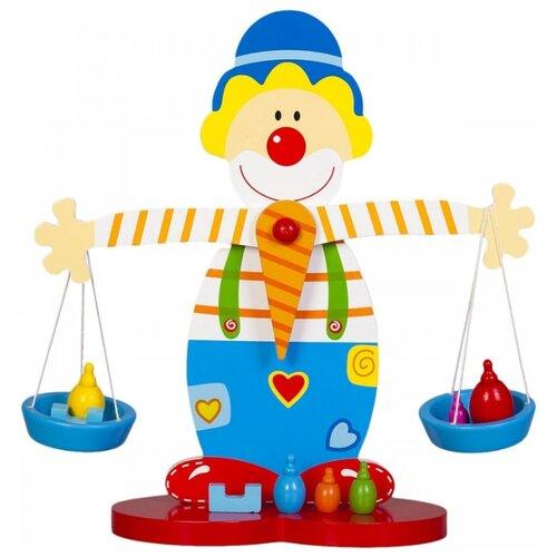 развивающая игрушка mapacha лабиринт сортер большой 76675 Развивающая игрушка Mapacha Весы Клоун мультиколор