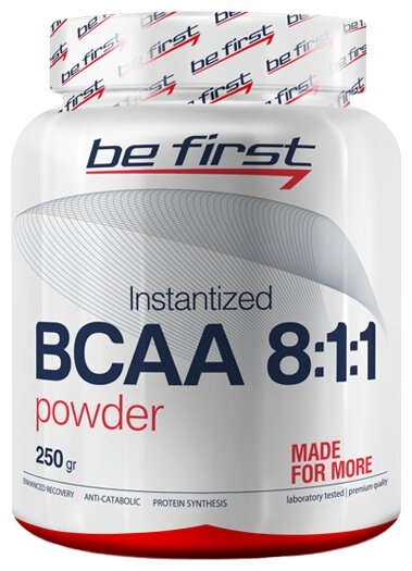 BCAA Be First BCAA 8:1:1 Instantized Powder (250 г)