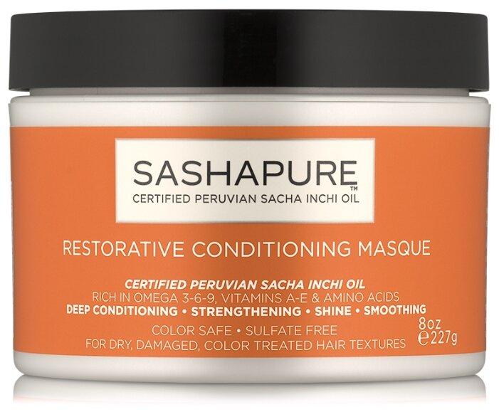 Sashapure Восстанавливающая маска для волос Restorative Conditioning Masque