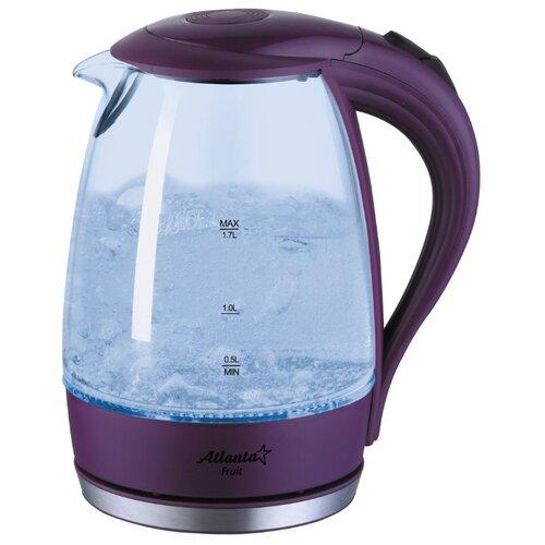 Чайник Atlanta ATH-2461, фиолетовый чайник atlanta ath 2461 красный