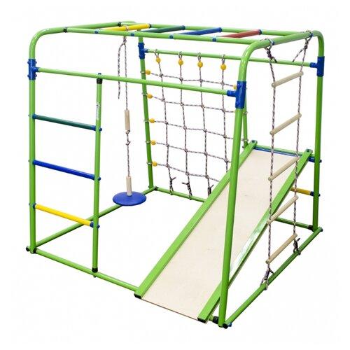 Купить Спортивно-игровой комплекс Формула здоровья Start baby 1 Плюс салатовый/радуга, Игровые и спортивные комплексы и горки