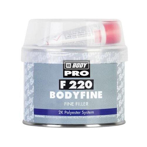 цена на Комплект (шпатлевка, отвердитель) HB BODY PRO F220 Bodyfine 0.25 кг