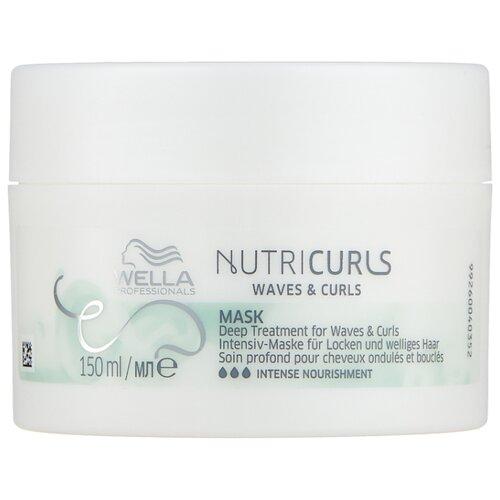 Wella Professionals NUTRICURLS Питательная маска для вьющихся и кудрявых волос, 150 мл фото