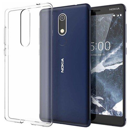 Чехол Gosso 184503 для Nokia 5.1 прозрачный