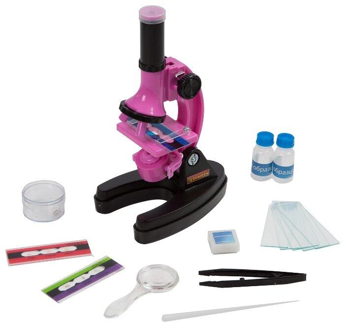 Микроскоп BONDIBON Науки с Буки Микромир 13 экспериментов (ВВ3379)