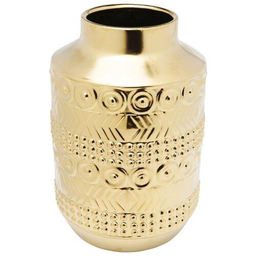 KARE Design Ваза Machu Picchu, коллекция Мачу-Пикчу 21*31*21, Керамика, Золотой g richardson machu picchu