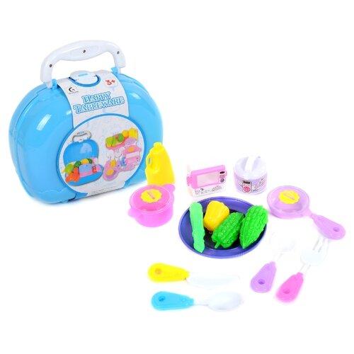 Игровой набор Shantou Gepai 462 голубой/желтый/зеленый/розовый мяч shantou gepai арифметика зеленый желтый
