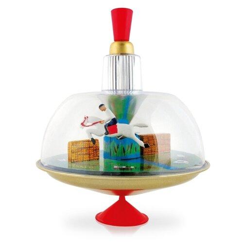 Юла-карусель Десятое королевство Скачущий всадник (01806) красный/золотой игрушка chuc юла