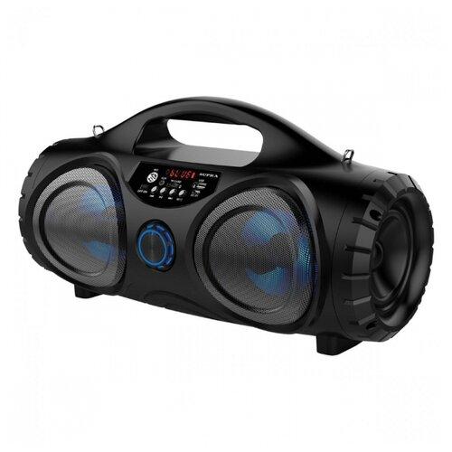 Фото - Портативная акустика SUPRA BTS-880 black аудиомагнитола supra bts 655 черный