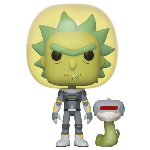 фигурки funko pop рик и морти морти в скафандре со змеей 45435 Фигурки Funko POP! Rick & Morty: Рик в скафандре со змеей 45434