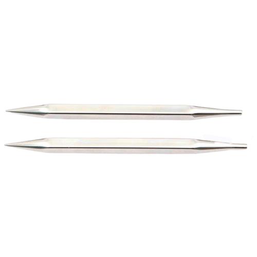 Купить Спицы Knit Pro съемные Nova cubics 12348, диаметр 8 мм, длина 10 см, серебристый