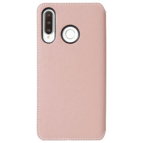 Чехол Krusell Pixbo 4 Card SlimWallet для Huawei P30 Lite розовый