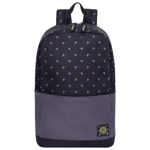 Рюкзак Grizzly RQ-921-5/1 23 (черный/серый) сумка женская grizzly цвет черный розовый 9 5 л md 621 2 1