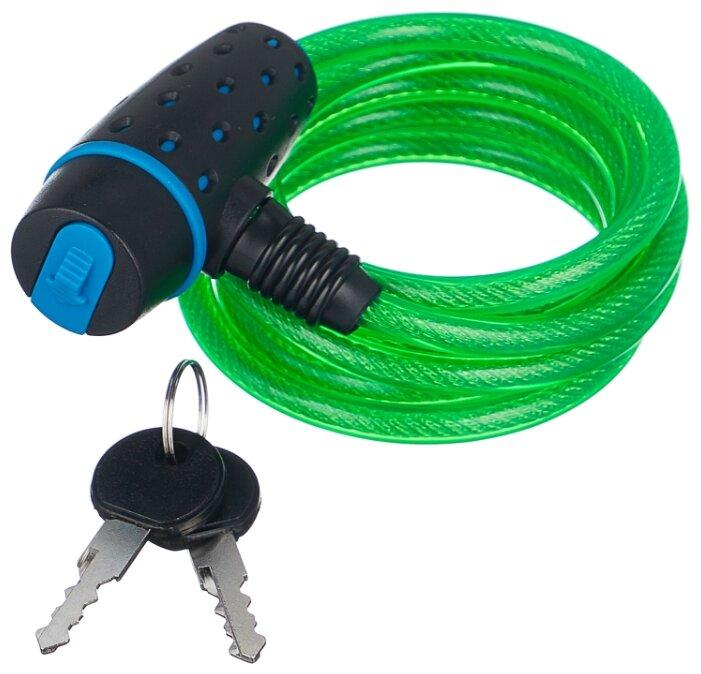Велозамок STELS 87318 черно-зеленый