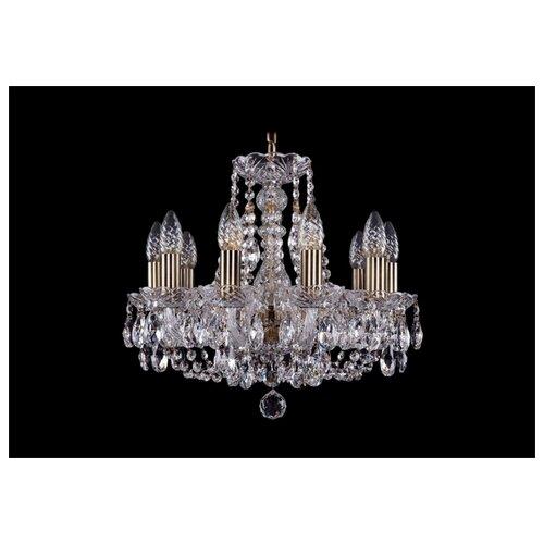 Люстра Bohemia Ivele Crystal 1406 1406/10/141/Pa, E14, 400 Вт подвесная люстра 1406 8 141 pa
