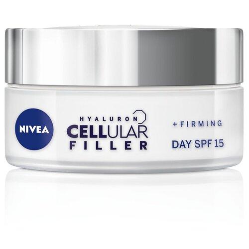 Крем Nivea Hyaluron Cellular Filler SPF15 дневной, 50 мл крем nivea hyaluron cellular filler ночной 50 мл