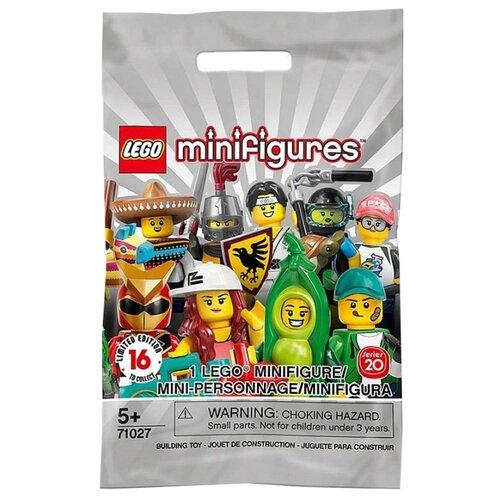 Конструктор LEGO Collectable Minifigures 71027 Серия 20, Конструкторы  - купить со скидкой