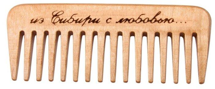 Тимбэ Продакшен Гребень массажный деревянный РД5101