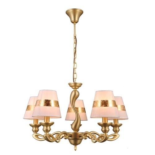 Люстра Natali Kovaltseva 75004/5C GOLD, E14, 200 Вт natali kovaltseva подвесной светильник natali kovaltseva loft lux 77031 1p gold 40097