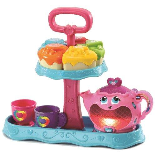 Купить Развивающая игрушка VTech Волшебный чайный набор розовый/голубой, Развивающие игрушки