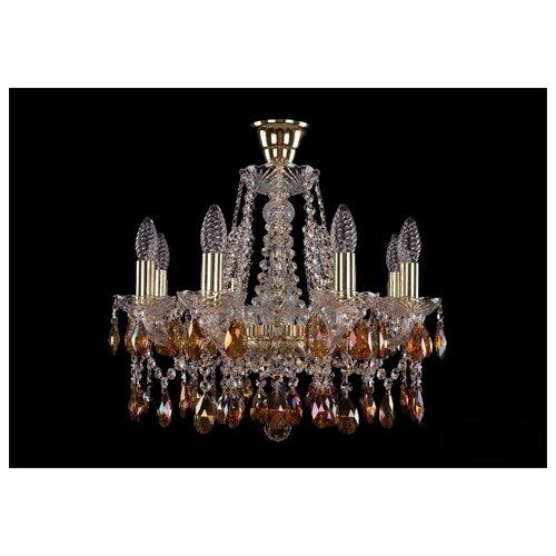 Люстра Bohemia Ivele Crystal 1413/8/165/G/K711, E14, 320 Вт